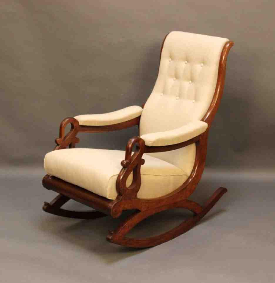 Rocking Chair Arm Cushions
