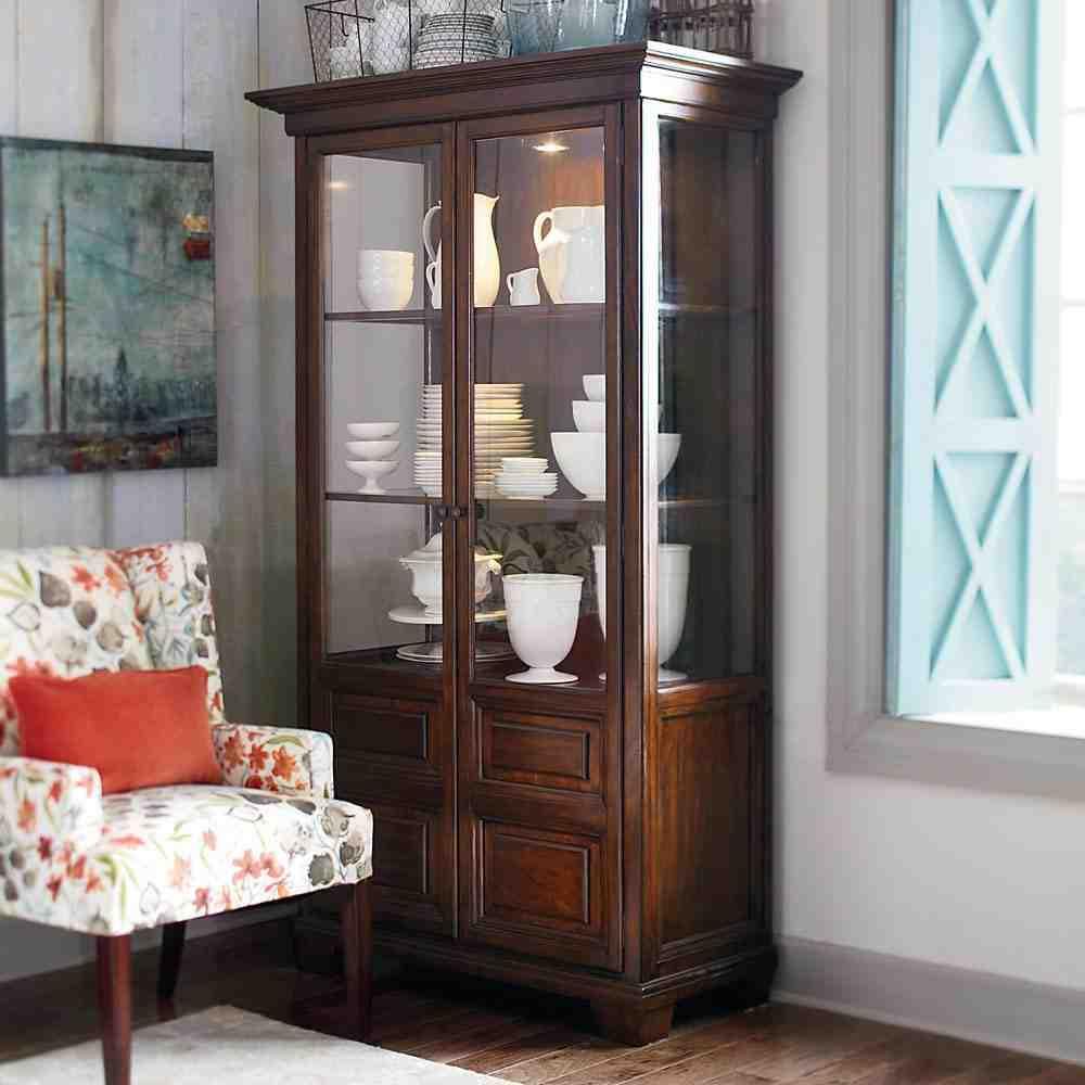 Small Corner China Cabinet Home Furniture Design