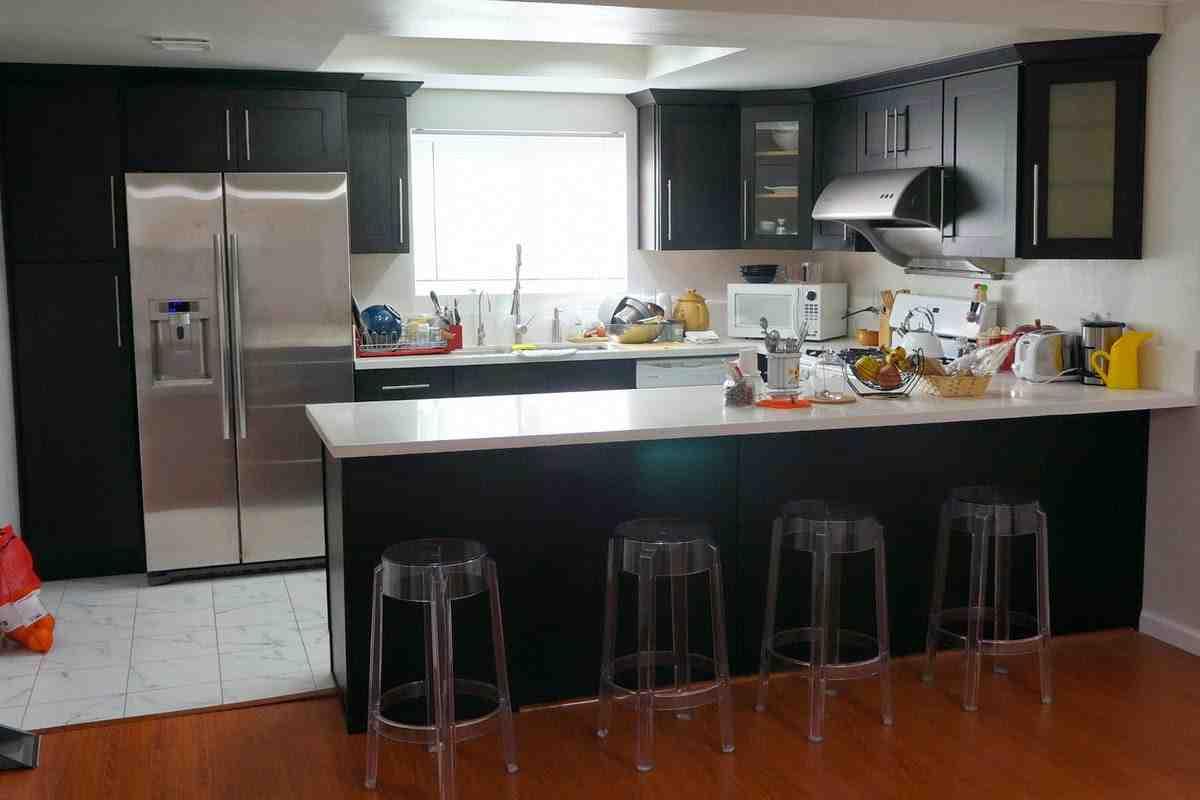 Espresso Shaker Kitchen Cabinets - Home Furniture Design