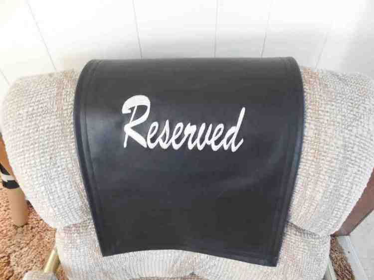 Recliner Headrest Covers Home Furniture Design