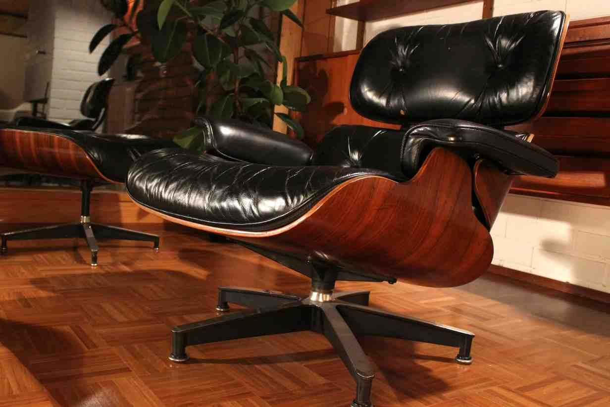 Used Eames Lounge Chair And Ottoman Home Furniture Design