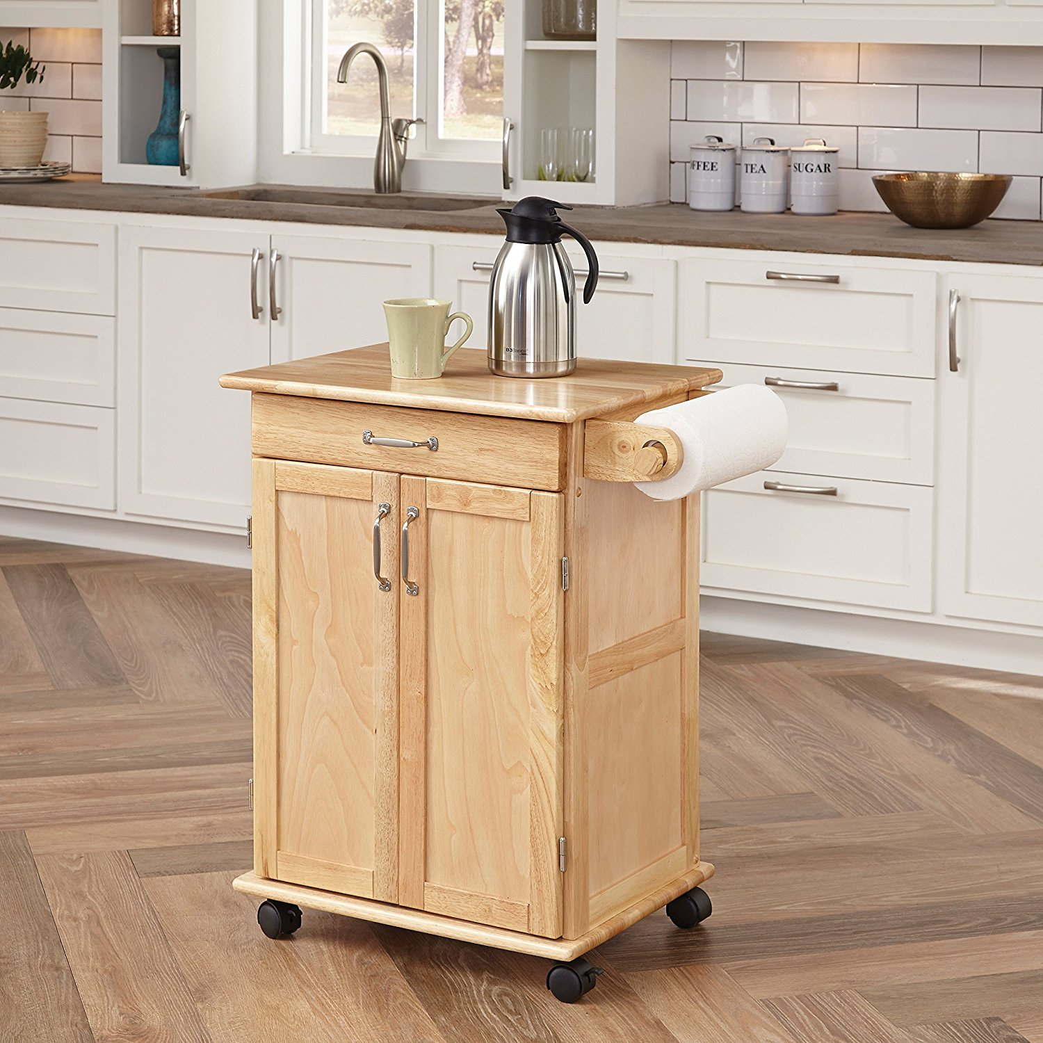Kitchen Cart With Drawers: Kitchen Utility Cart With Drawers