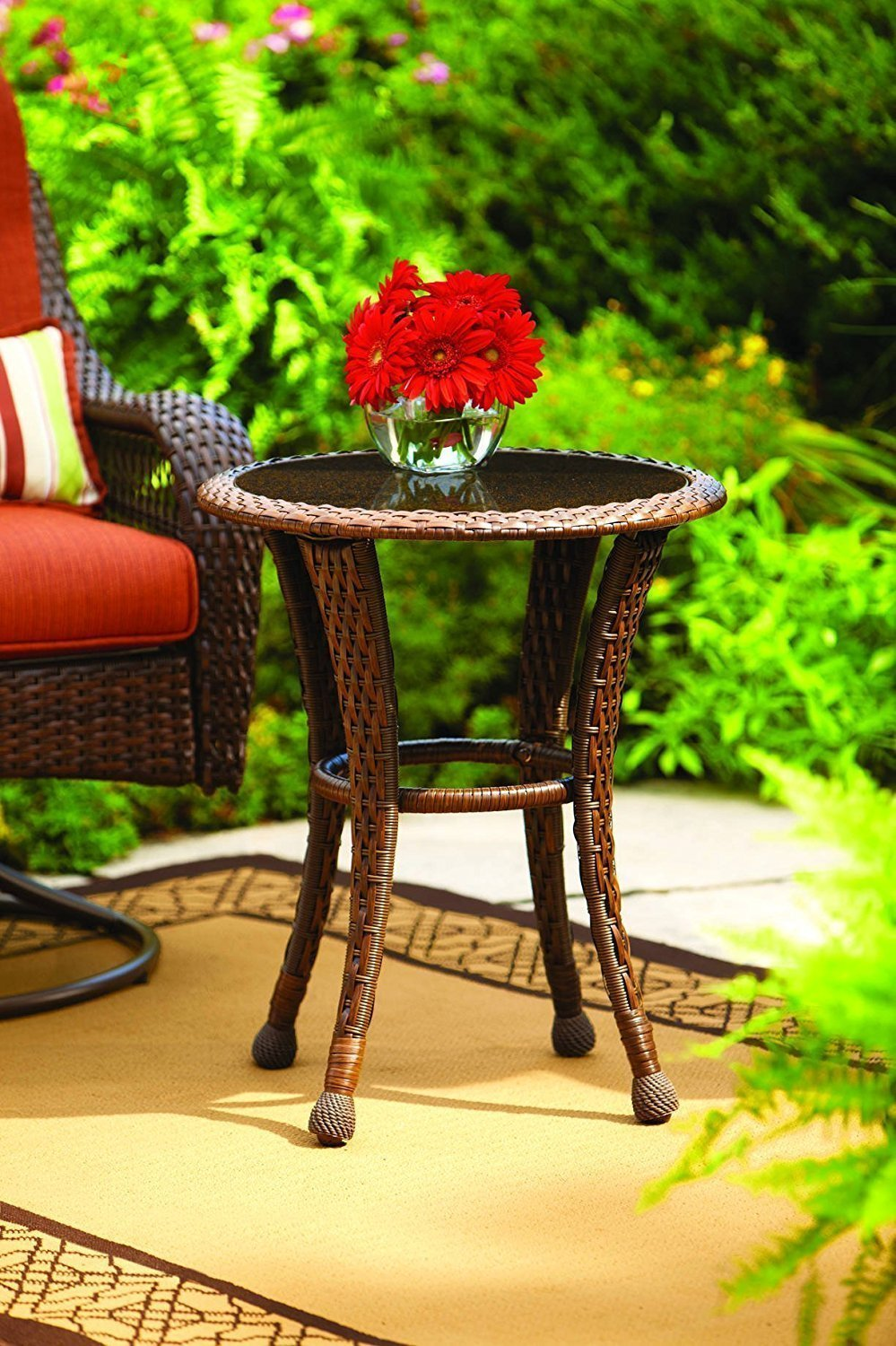 Outdoor Patio End Tables Home Furniture Design