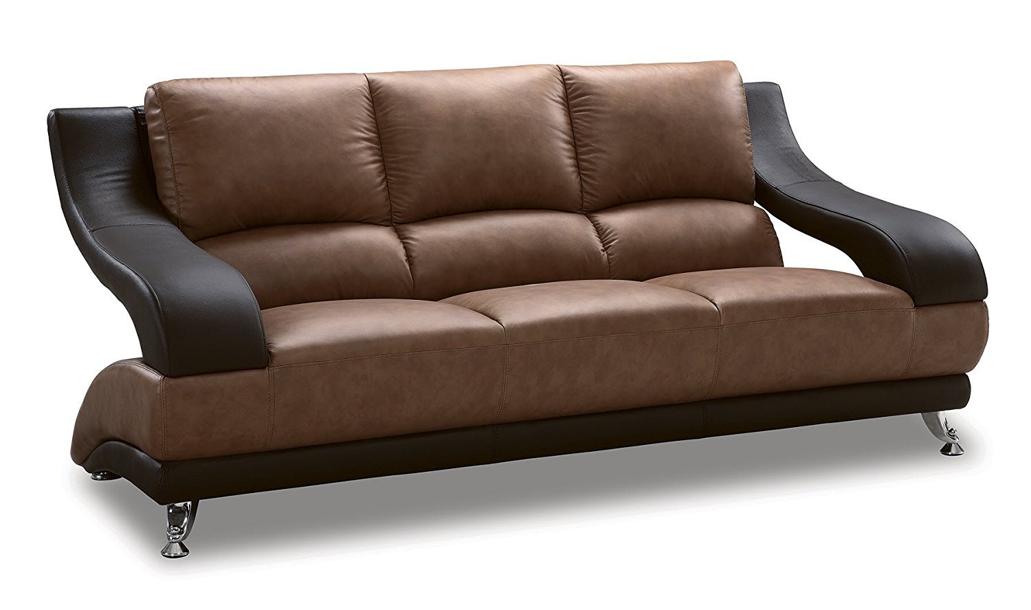 Leather Furniture Traveler Collection: Global Furniture Wyatt Collection Leather Matching Sofa