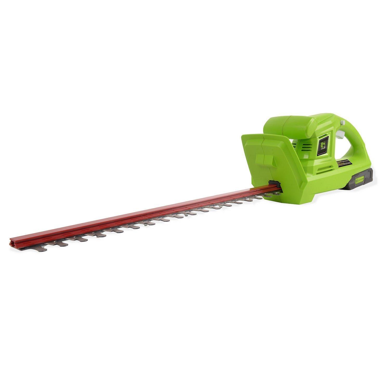 Greenworks 20 Inch 24v Cordless Hedge Trimmer Home