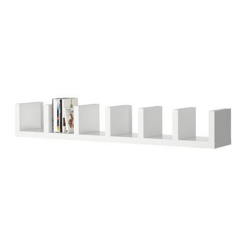 Ikea 602 821 86 New Lack Wall Shelf Unit White 1 Home