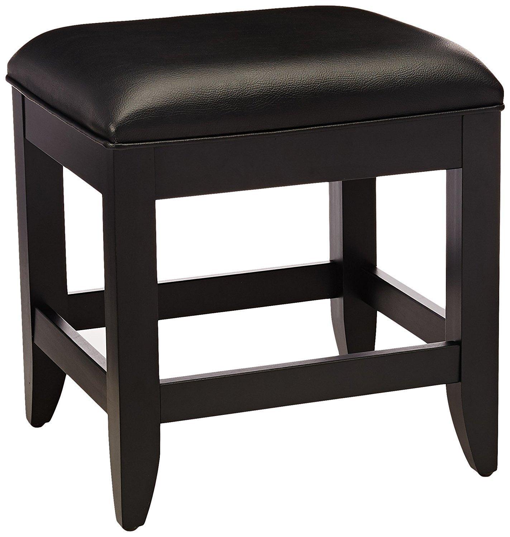 Black Vanity Stool Home Furniture Design